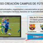 50% Descuento durante 10 días en el Curso de Creación de Campus de Fútbol [Actualizado]