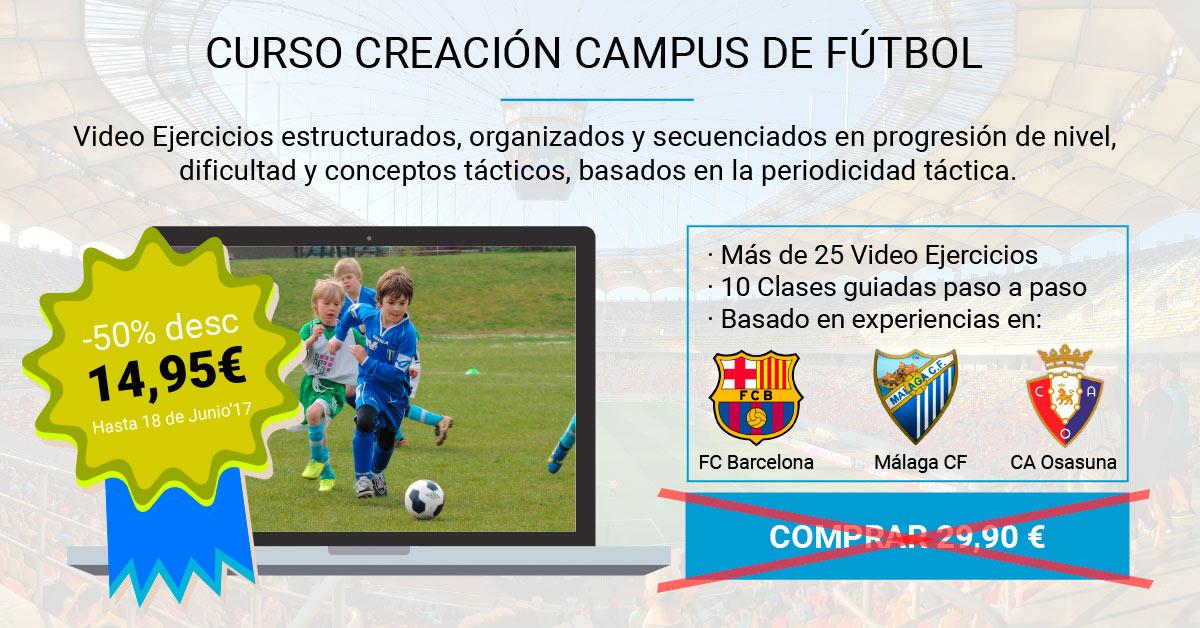 Ejercicios Fútbol - Curso-Creacion-Campus-de-Futbol-Escudos-DESCUENTO-LQ