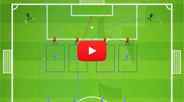 Protección, temporización, balón a zona alejada de presión, remate en carrera