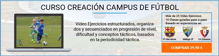 Ejercicios Fútbol - Cursos Entrenador de Fútbol Online