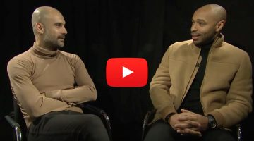 Thierry Henry entrevista a Pep Guardiola
