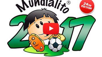 Mundialito 2017 Fútbol Base con 5.000 participantes de los 5 continentes