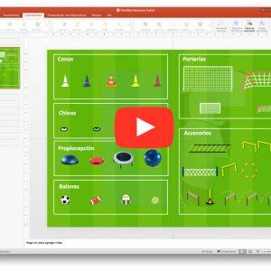 Plantilla-Ejercicios-Futbol-Venta - Diseño, Diseñador de Ejercicios - Tareas - Sesion - Fútbol