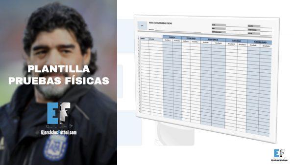 20 Plantillas Esenciales Entrenador Fútbol - Ejercicios Fútbol